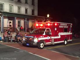 EMT Eno & Lieutenant Dunlap in Ambulance 89-1(D)  (Twin Valley Fire Department photo)