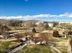 The campus of New Mexico Tech