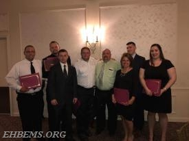 EHBAEMS staff present at the awards banquet